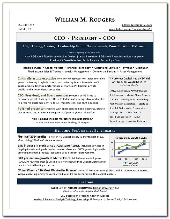 Best Executive Assistant Resume Template