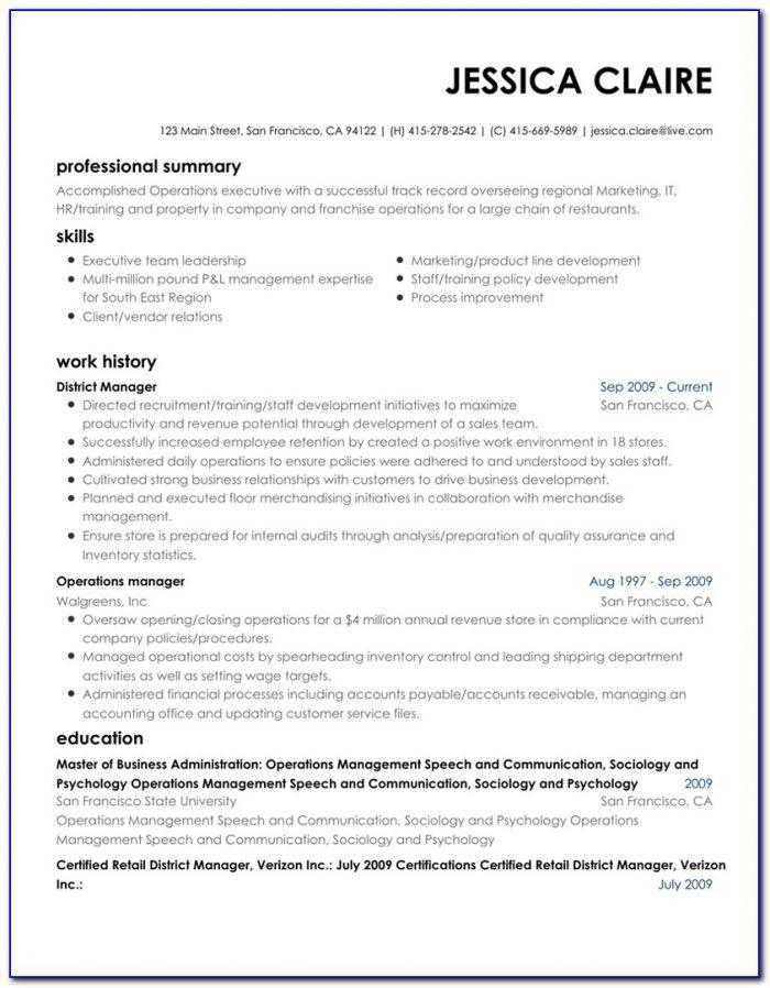 Best Executive Resume Builder