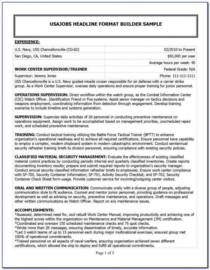 Best Military To Civilian Resume Writing Service