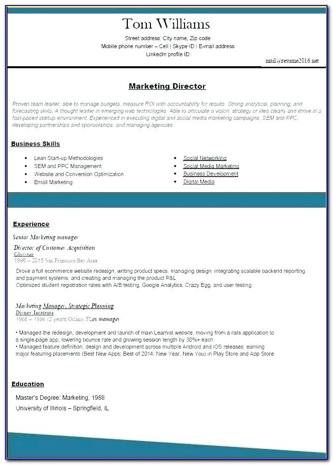 Best Resume Builder Online Quora