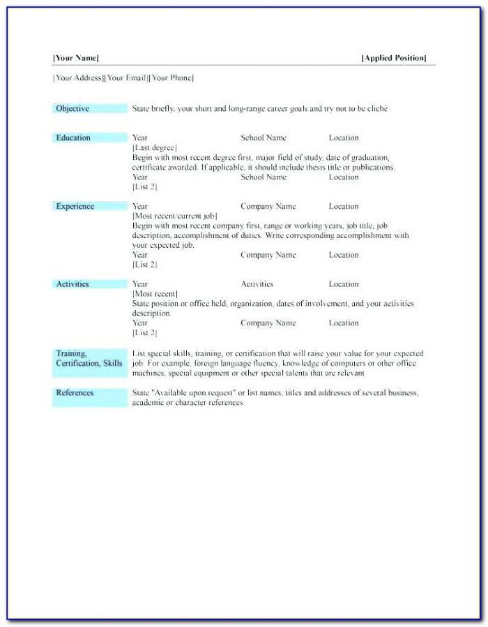Best Resume Builder Software Free