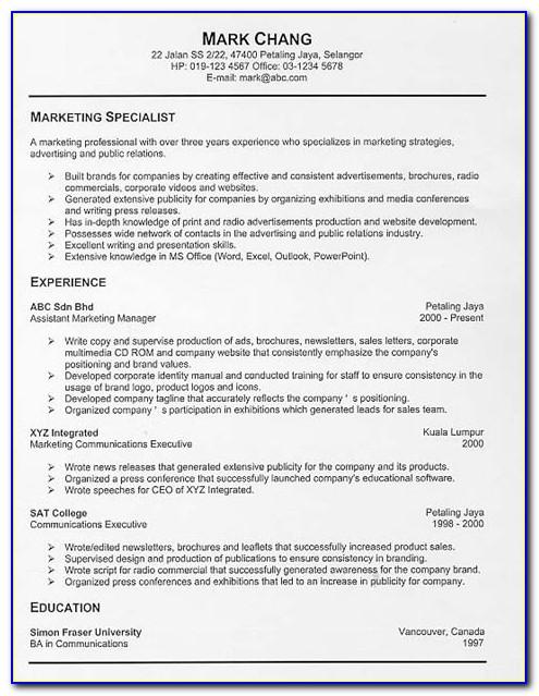 Best Resume Maker For Free
