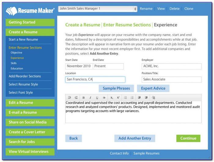 Best Resume Maker Software