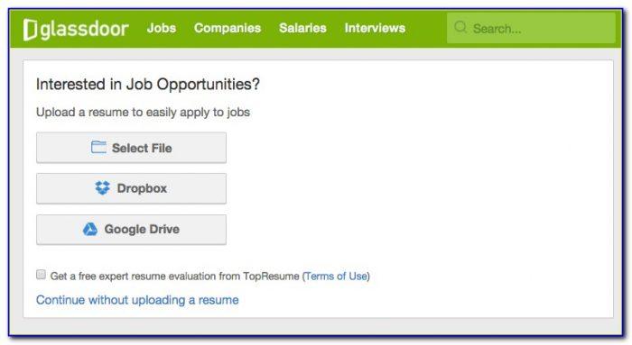 Best Website To Upload Resume