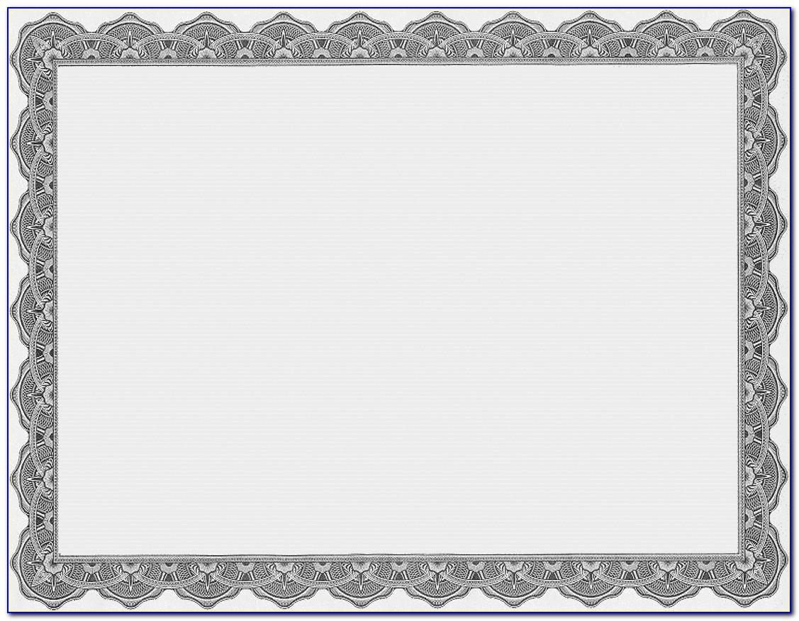 Business Achievement Certificate Templates