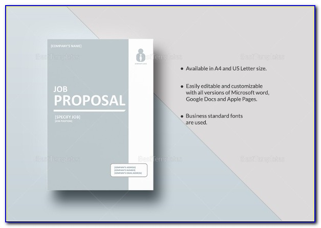 Business Proposal Template Design Free Download