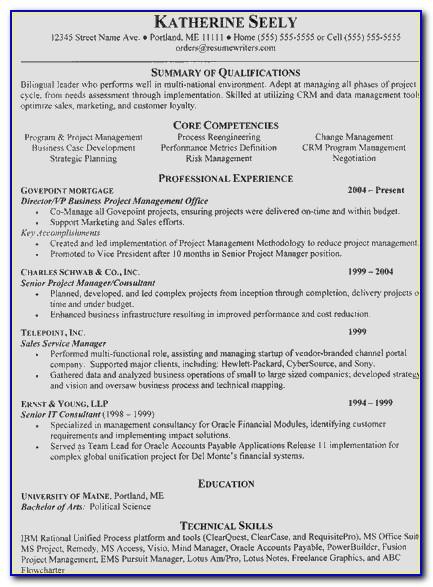 C Level Resume Writers