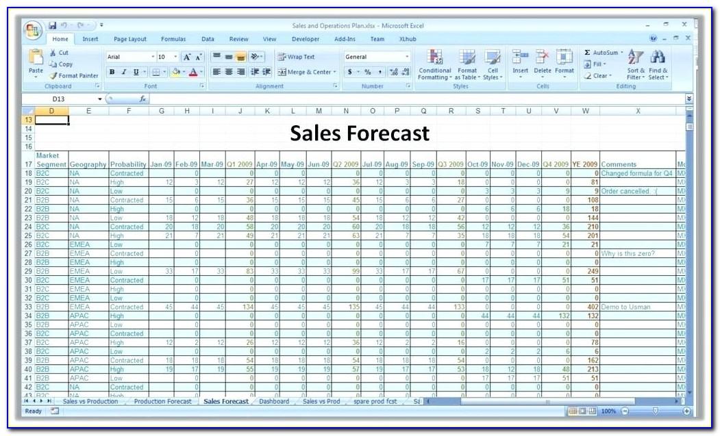 Call Center Forecasting Excel Templates