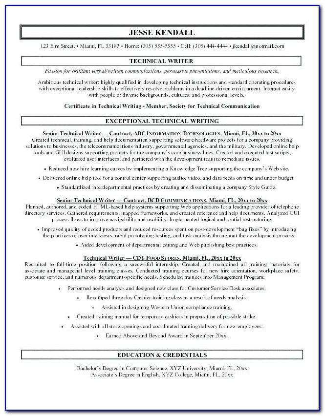 Certified Professional Resume Writers