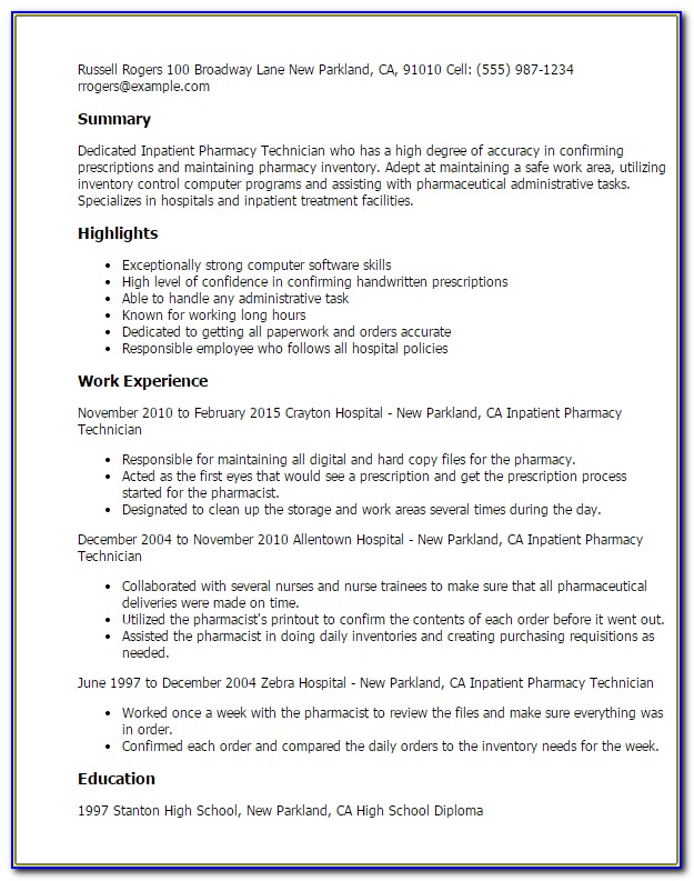 Create A Pdf Resume From Linkedin