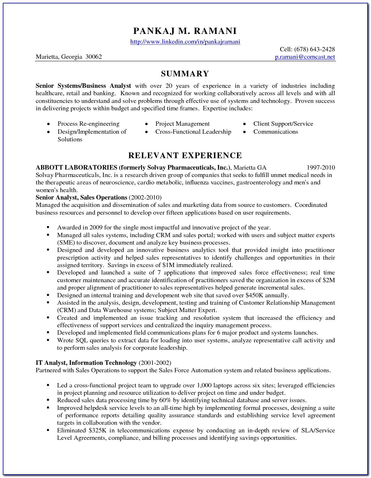Data Governance Analyst Resume