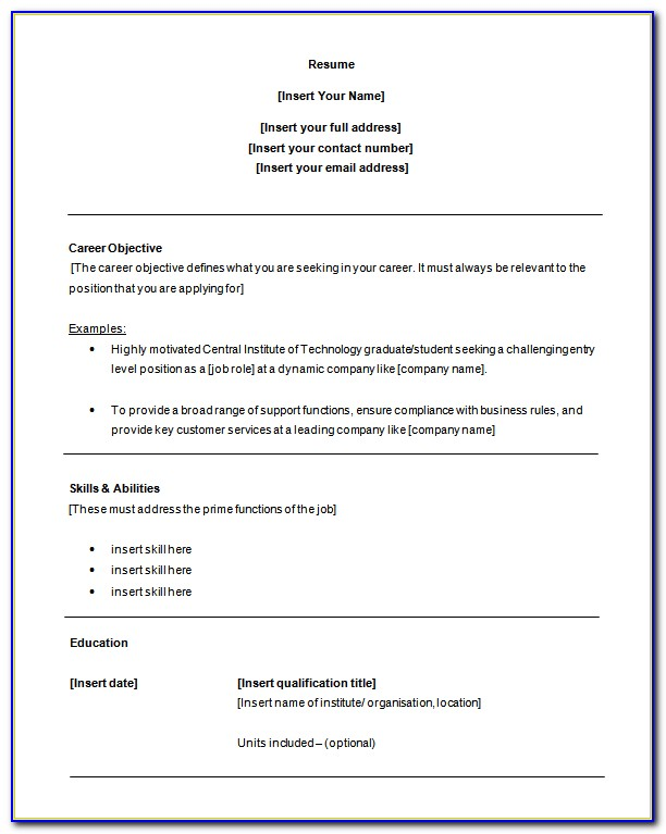 Entry Level Customer Service Resume Samples Free