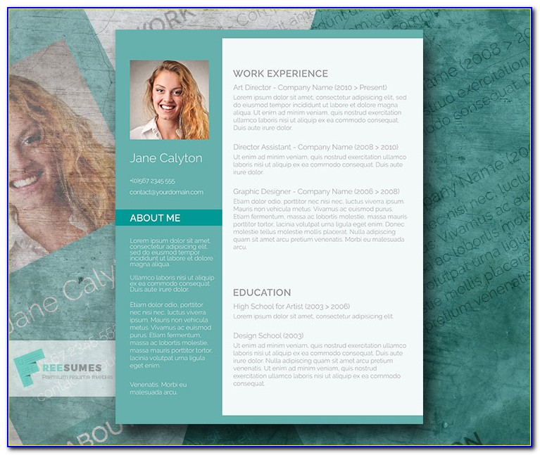 Fancy Resume Templates Free Download