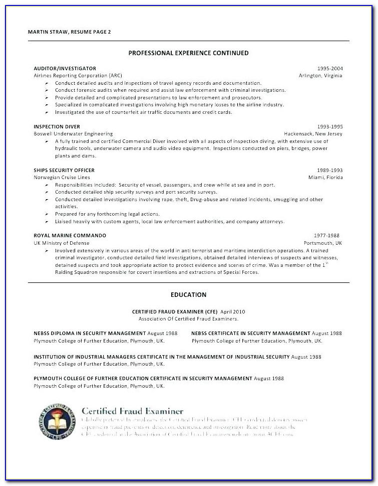 Find A Certified Federal Resume Writer