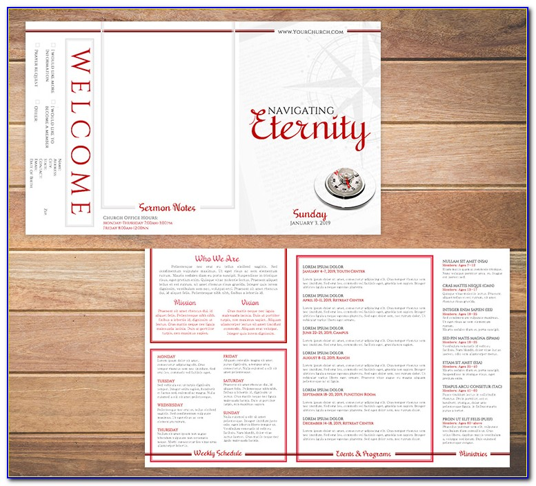 Free Bulletin Templates For Funerals