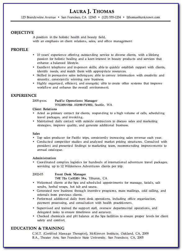 Free Combination Resume Builder