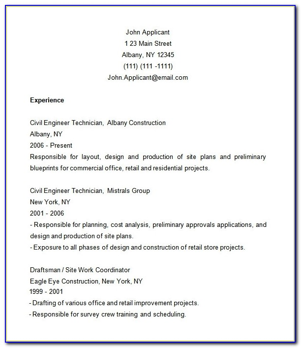 Construction Resume Template – 9+ Free Samples, Examples, Format Regarding Sample Construction Resume