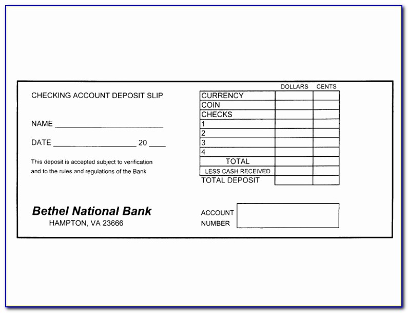 The Deposit Slip Design Free Printable Deposit Slip Template Elegant Doc Xls Letter Templates Warso