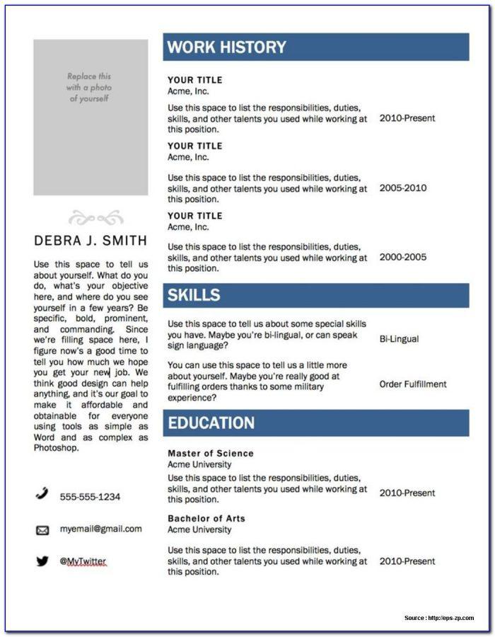 Free Download Resume Maker Software