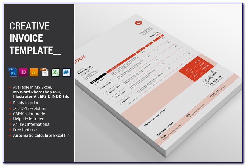 Free Graphic Designer Invoice Template