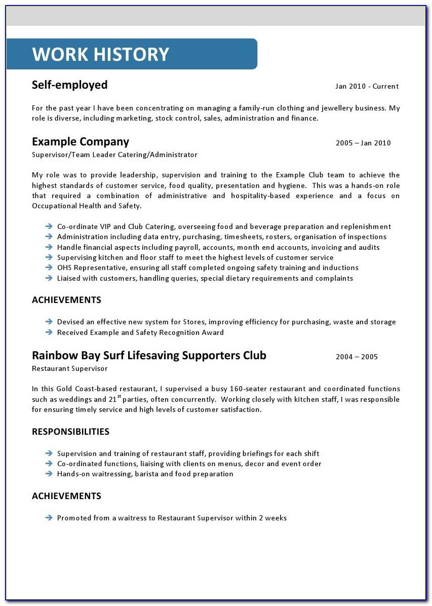 Free Mining Resume Templates Australia