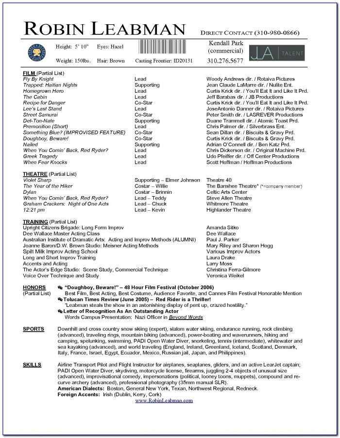 Professional Resume Template Microsoft Word Create 2016 Cv B8u In Acting Resume Template 2017