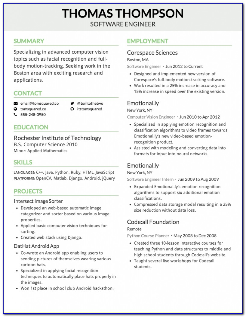 Creddle Free Resume Builder To Save To Computer