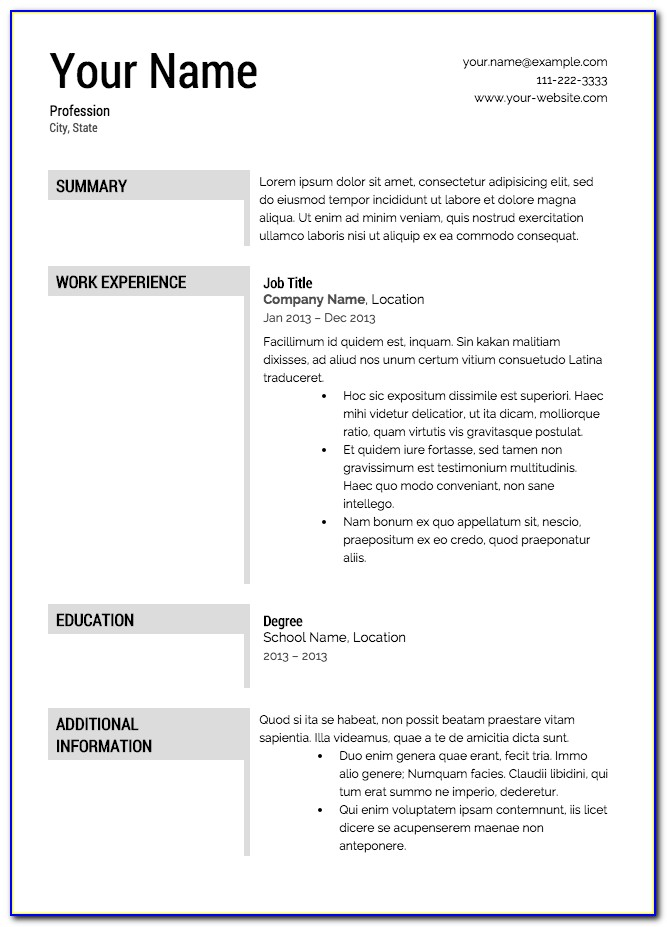 Free Resume Cover Letter Samples Downloads