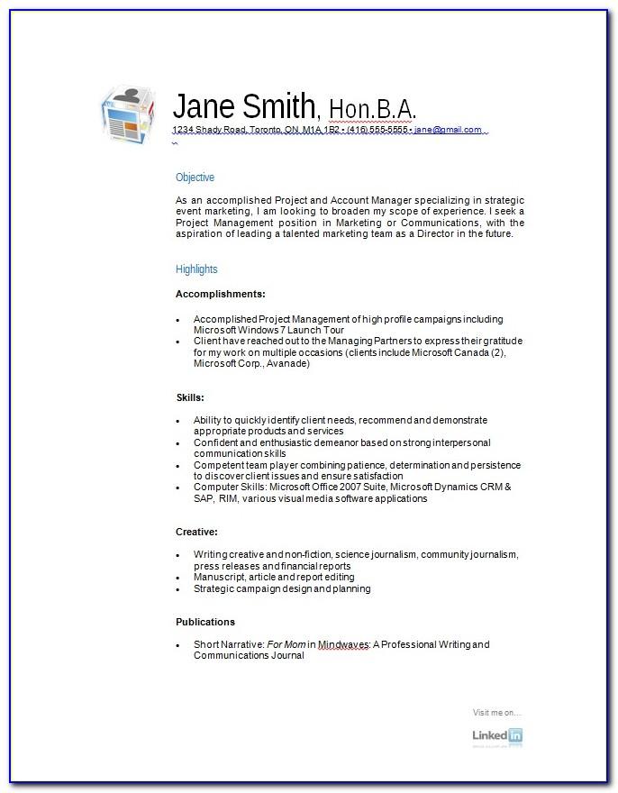 Free Resume Formatting Downloads