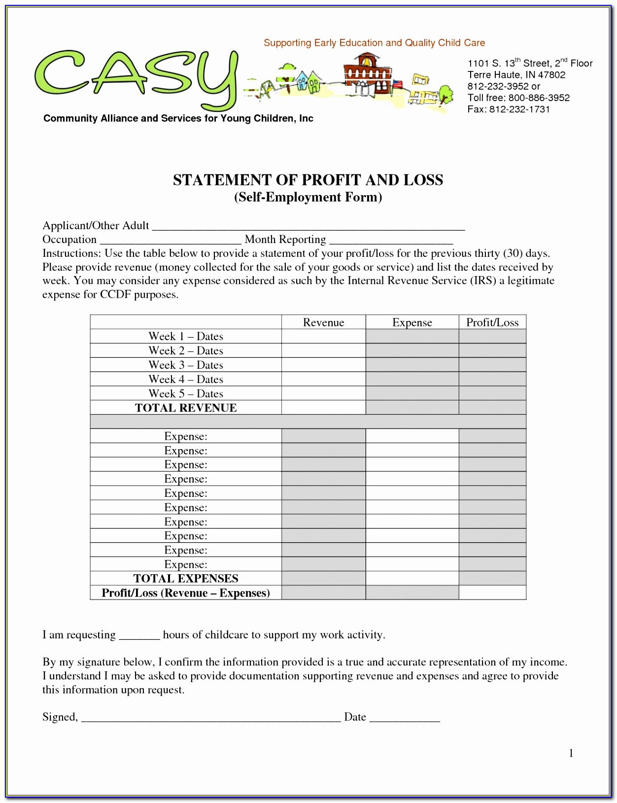 Simple Profit Loss Statement Template Free Blank Program Template Printable Sample Profit And Loss Statement Excel Template New Pdf Word Excel Download Templates Appey