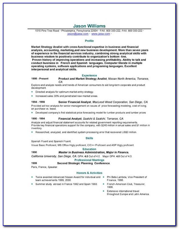 Free Template Resume Malaysia