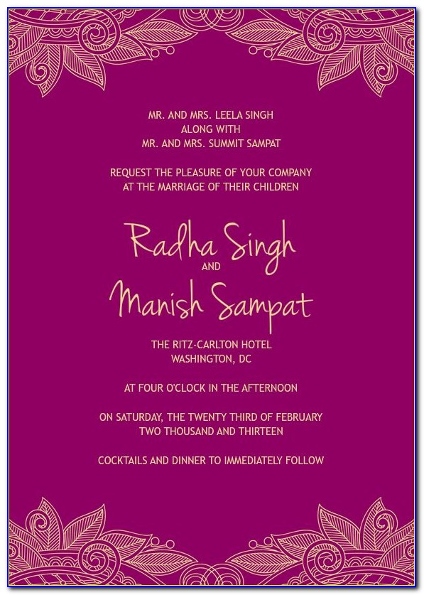 Free Wedding Ecards Invitation Templates