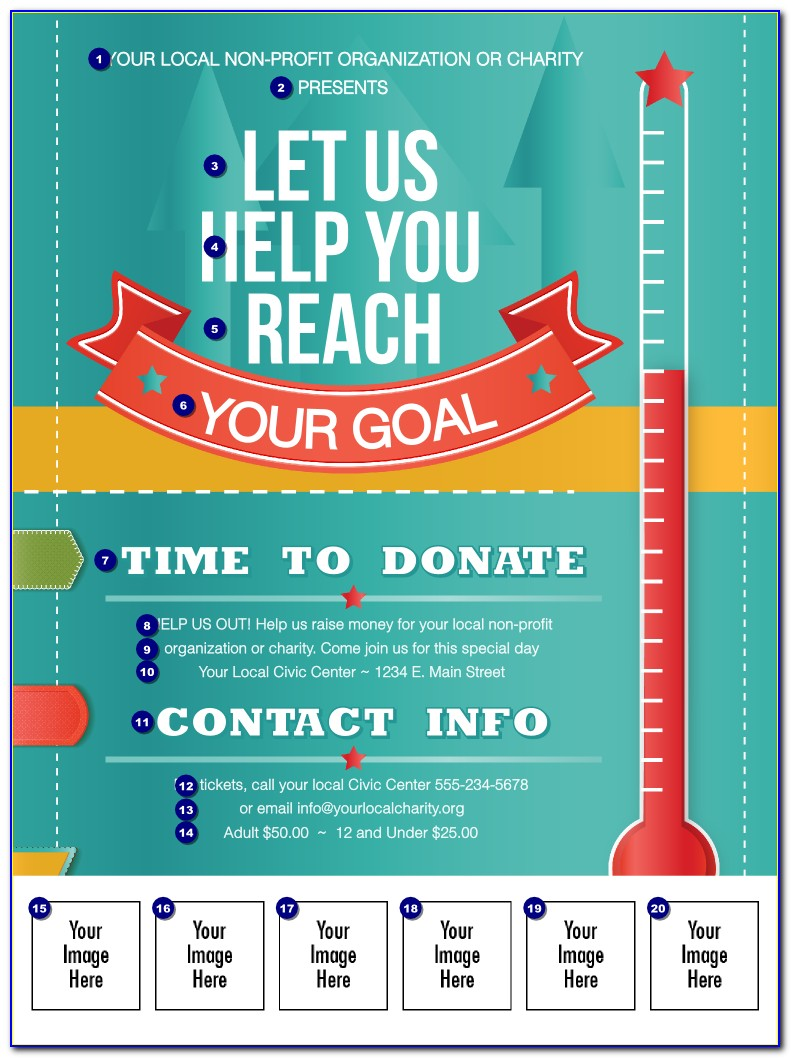Fundraising Flyer Templates Free