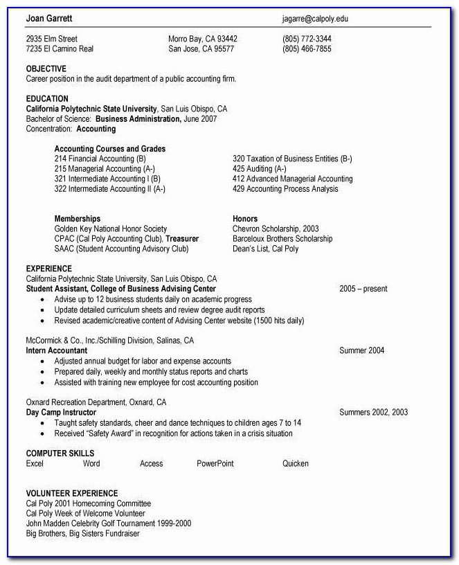 Google Chrome Resume Maker