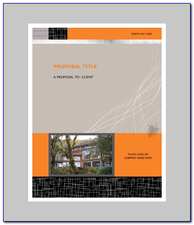 Graphic Design Proposal Template Free Download