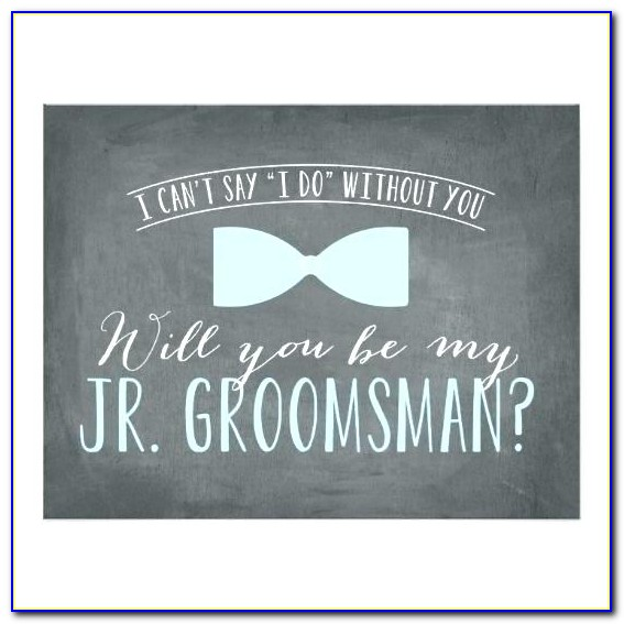 Groomsmen Invitation Templates