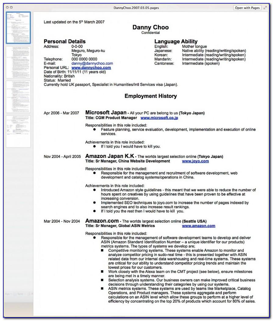 How Do I Write Up A Resume