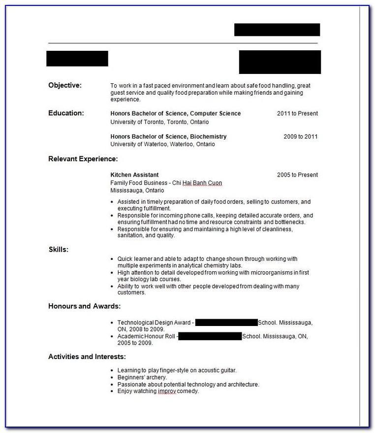 How To Make Resume For Job Of Teacher