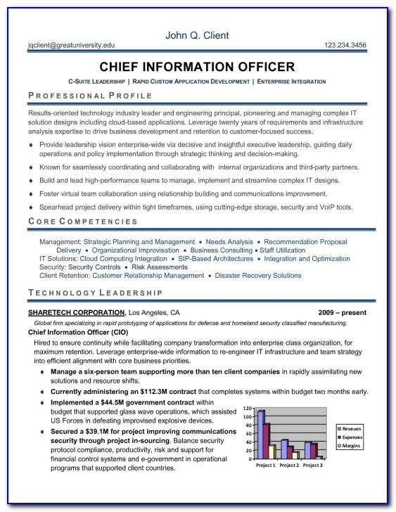Hr Executive Sample Resume Format
