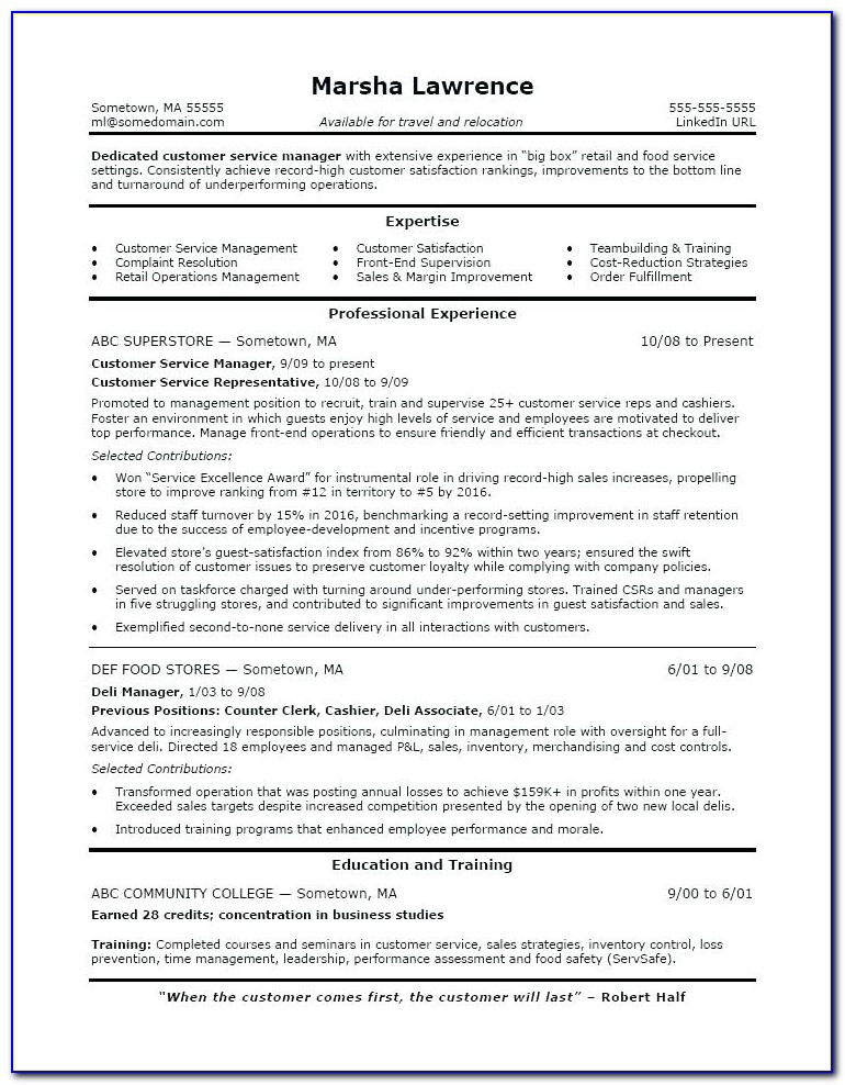 Linkedin Resume Writing Services