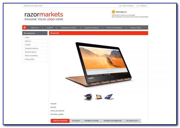 M2e Pro Ebay Listing Template
