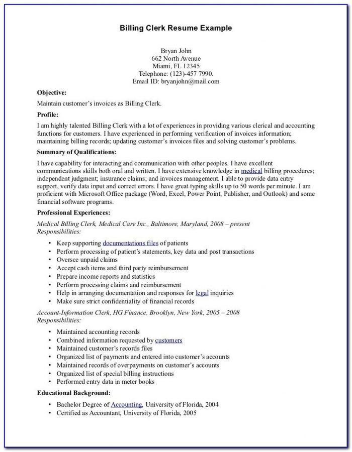 Medical Biller Resume Samples Medical Billing And Coding Externship Resume Sample Medical Biller