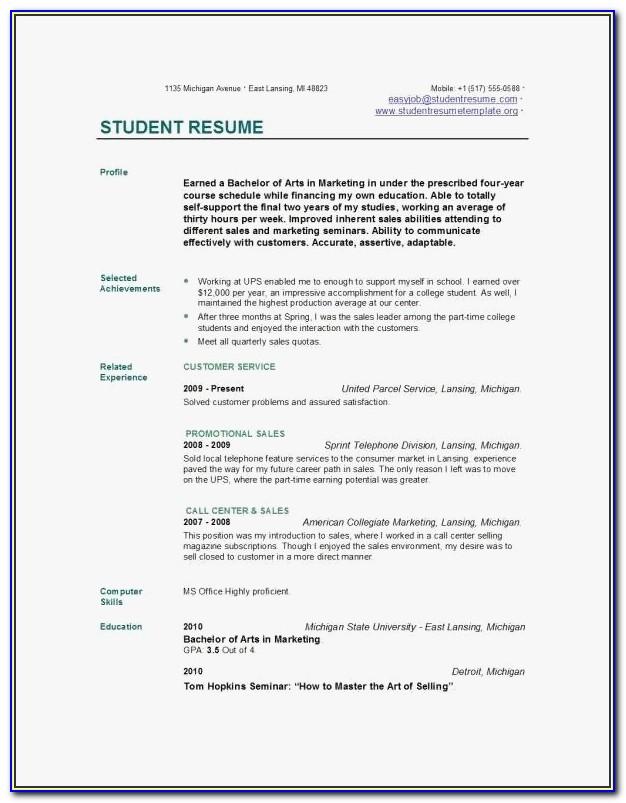 Michigan Resume Builder Templates 47 Best Free Resume Builder 2016 Graphics