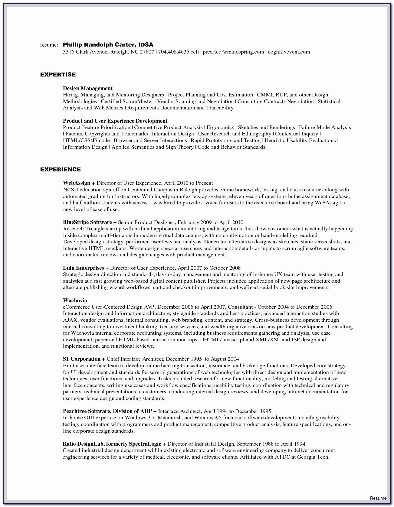 Of Mobile Application Testing Resume Sample