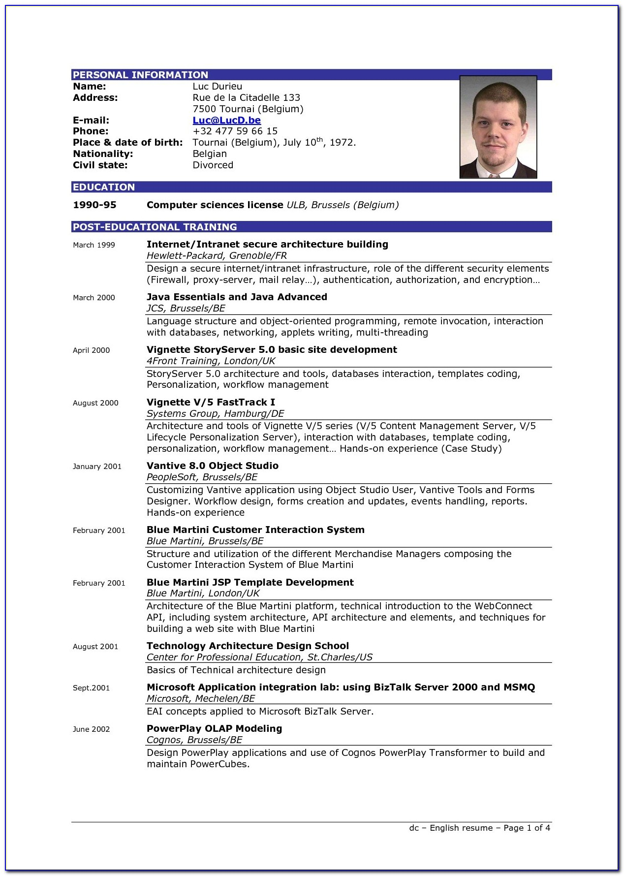 Most Effective Resume Templates 2017