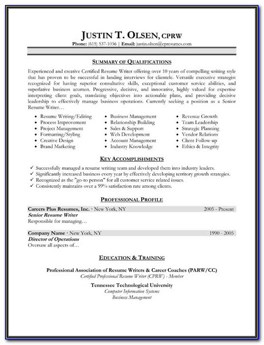 Most Effective Resume Templates Free
