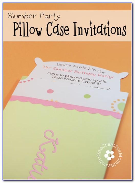 Pajama Party Invitation Maker