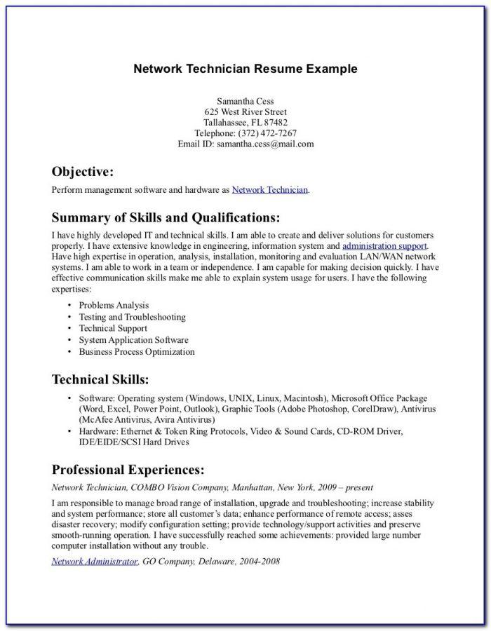 Pharmacy Technician Resume Pdf