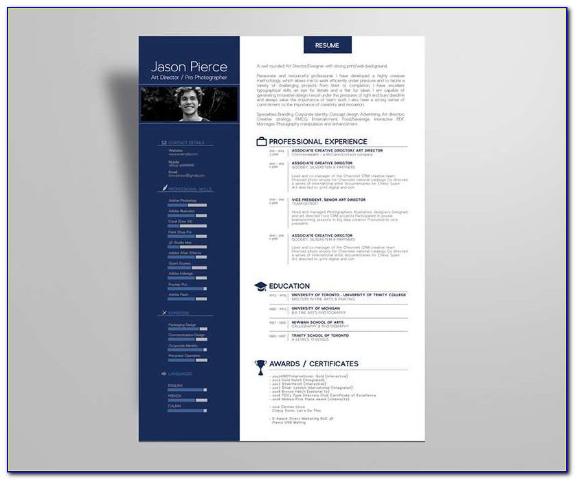 Simple Premium Resume Cv Design Cover Letter Template Resume Psd Template