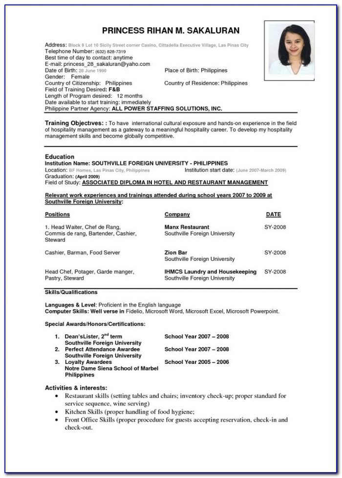 Best 25+ Resume Format Examples Ideas On Pinterest | Resume With Regard To How To Prepare Cv Format